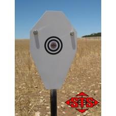 Quick Deploy Target System - 50% IPSC Target